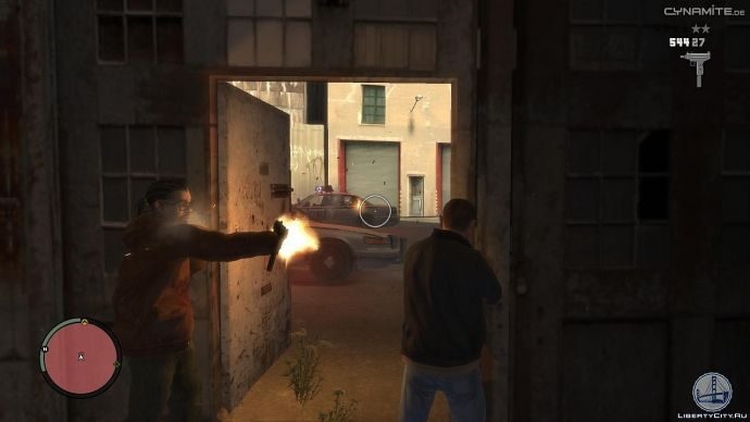 Засада в GTA 4