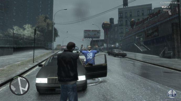 Кража авто в GTA 4