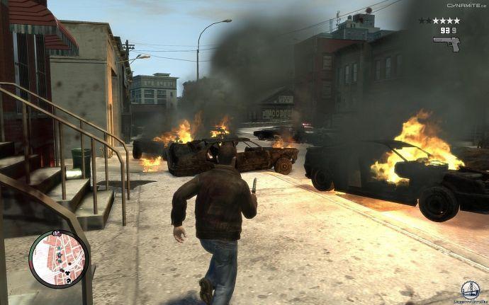 Переполох в GTA 4