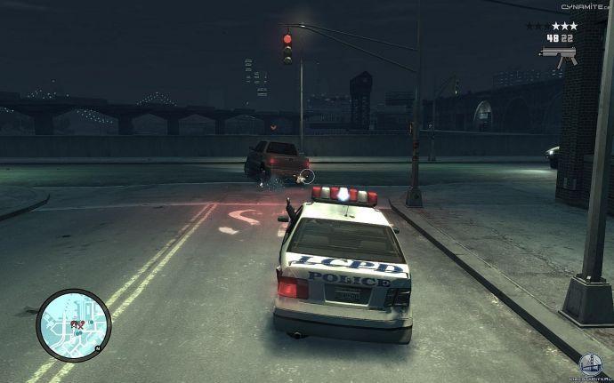Стрельба по колесам в GTA 4
