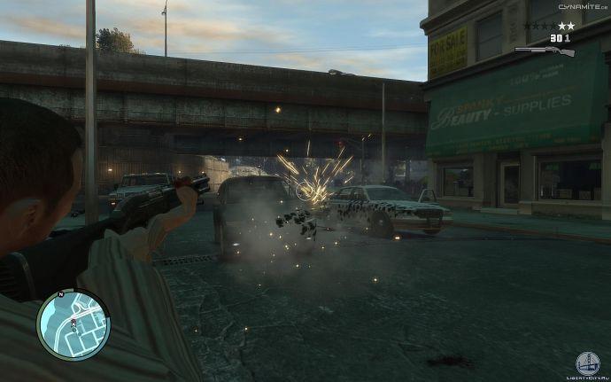 Искры в GTA 4