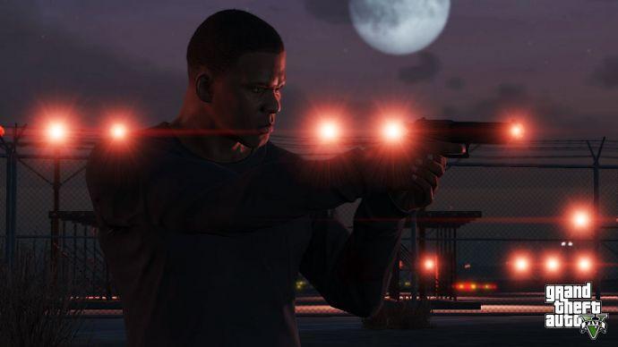 Красные фонари в GTA 5