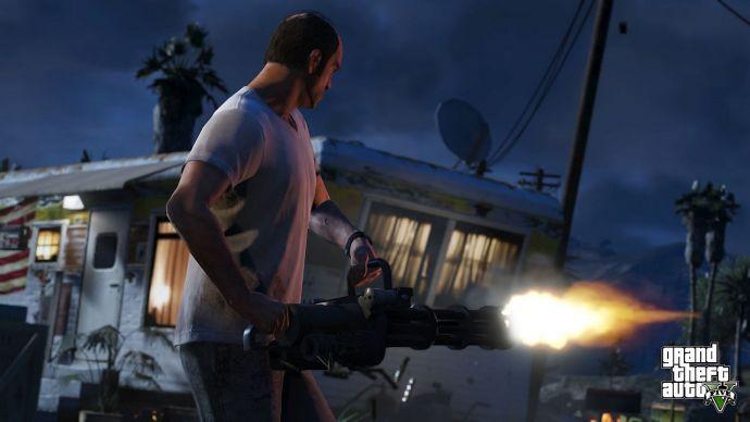 Шестистволка в GTA 5