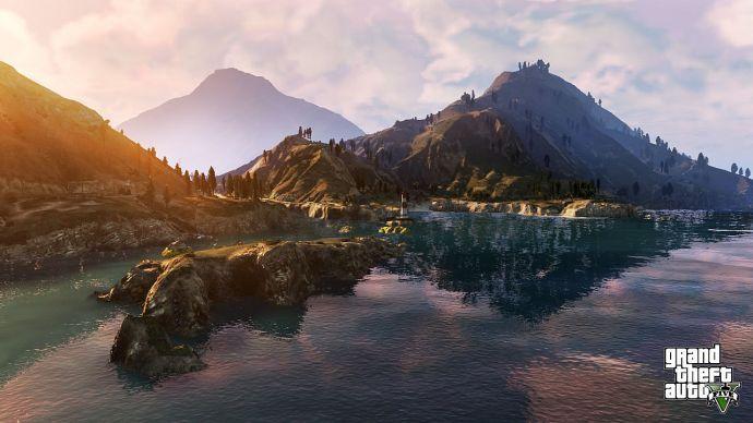 Горы в GTA 5