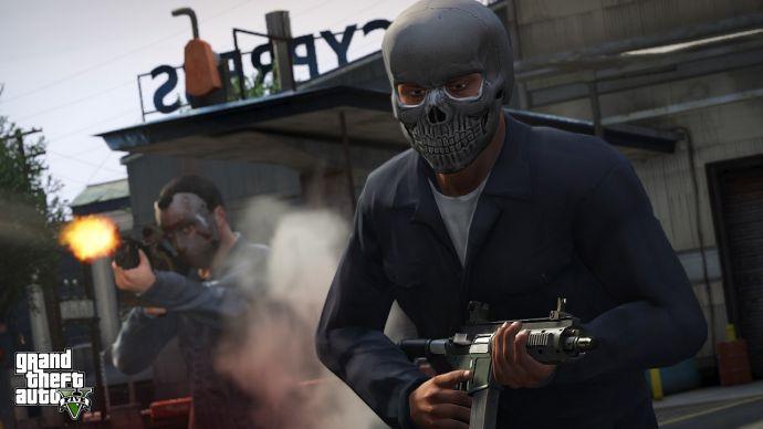 Перестрелка в GTA 5