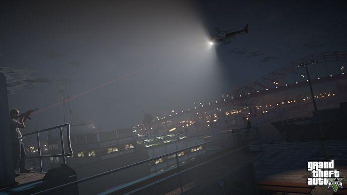 Расстрел вертолета в GTA 5