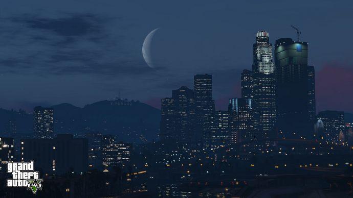 Полночь в GTA 5