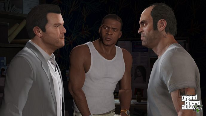 Три героя GTA 5