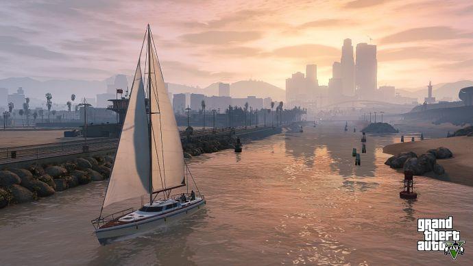 Яхта в GTA 5