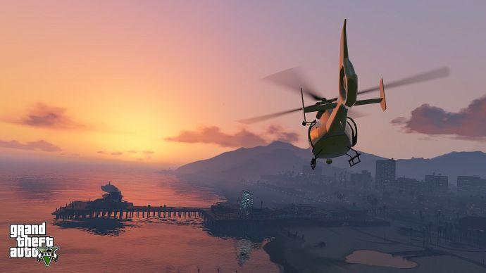 Закат в GTA 5