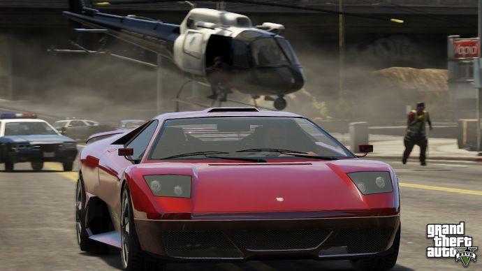 Гоночная машина в GTA 5