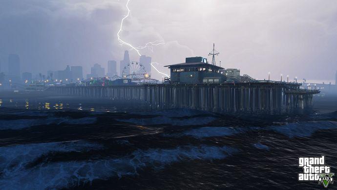 Гроза в GTA 5