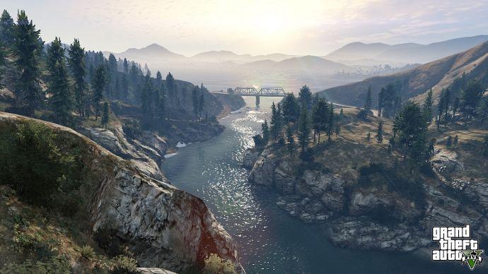 Пейзаж из GTA 5