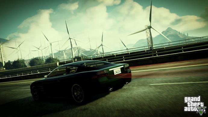 Облака в GTA 5