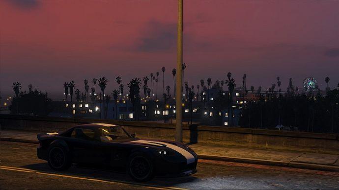 Вечерний Лос-Сантос
