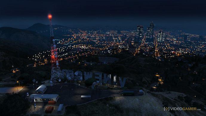 Ночной Лос-Сантос