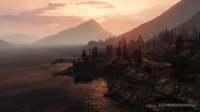 Красивый вид в GTA 5