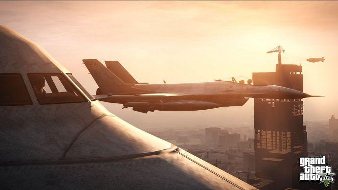 Самолеты в GTA 5