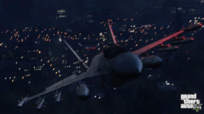 Самолет в GTA 5