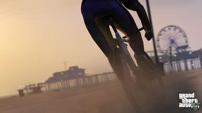 Велосипед в GTA 5