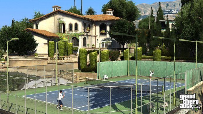 Теннис в GTA 5
