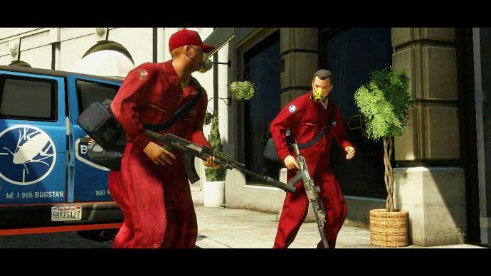 GTA 5: на задании
