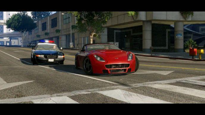 GTA 5: погоня