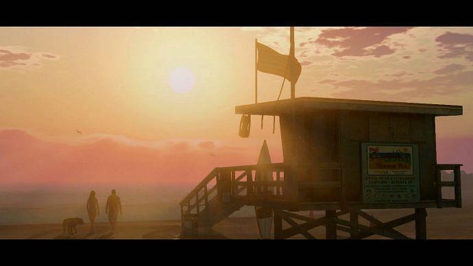 GTA 5: пляж