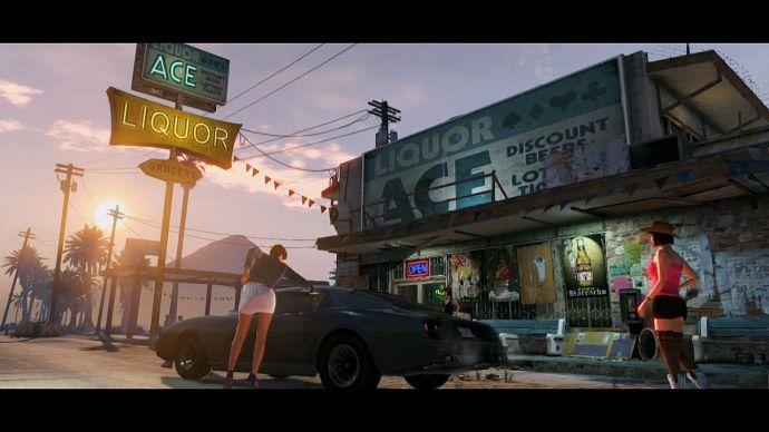 GTA 5: проститутки