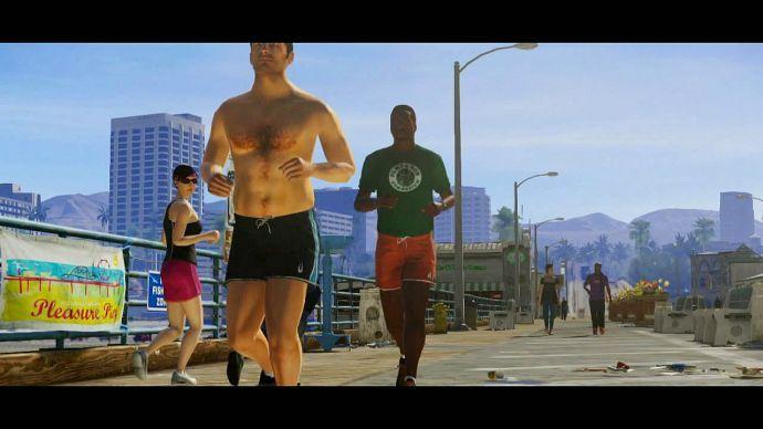 GTA 5: утренняя пробежка