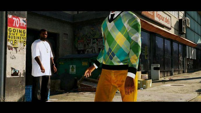 GTA 5: прохожие