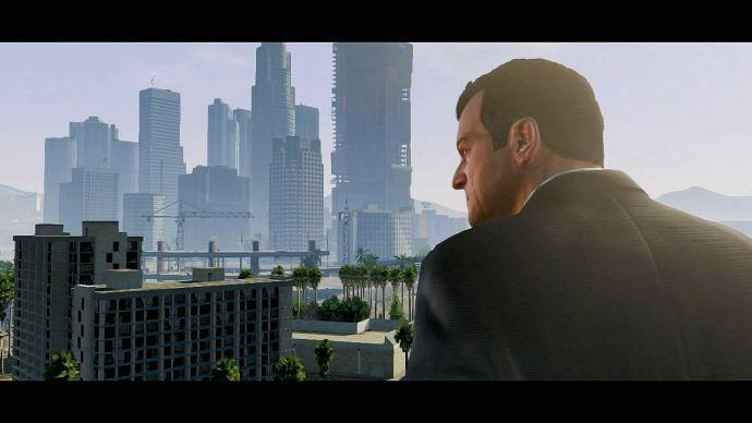 GTA 5: вид города