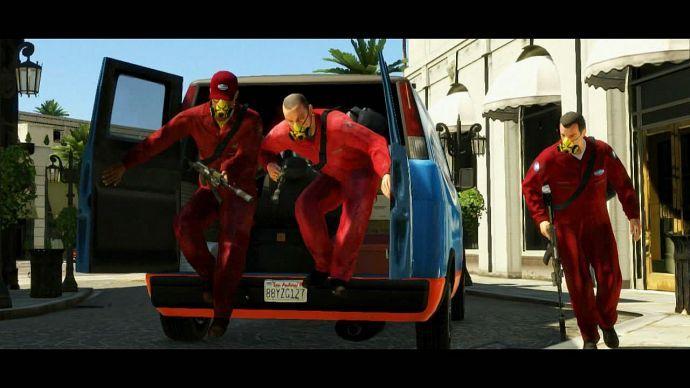 GTA 5: пошли, пошли!