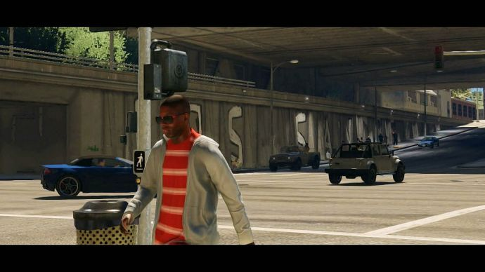 GTA 5: прохожий