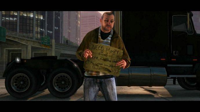 GTA 5: бедняк