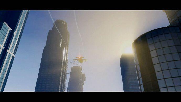 GTA 5: истребитель