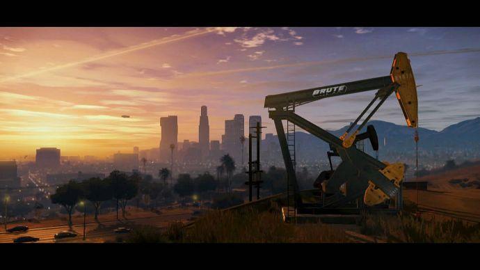 GTA 5: нефтяной насос
