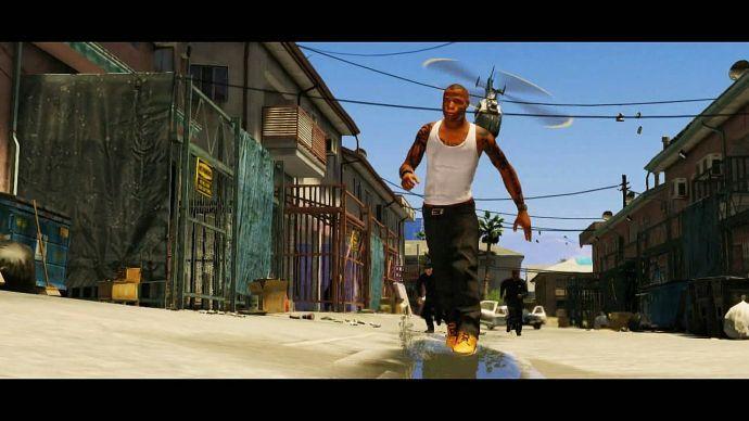 GTA 5: преследование