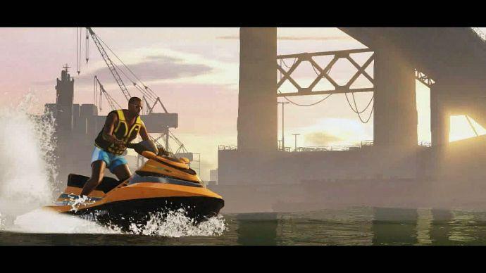 GTA 5: гидроцикл