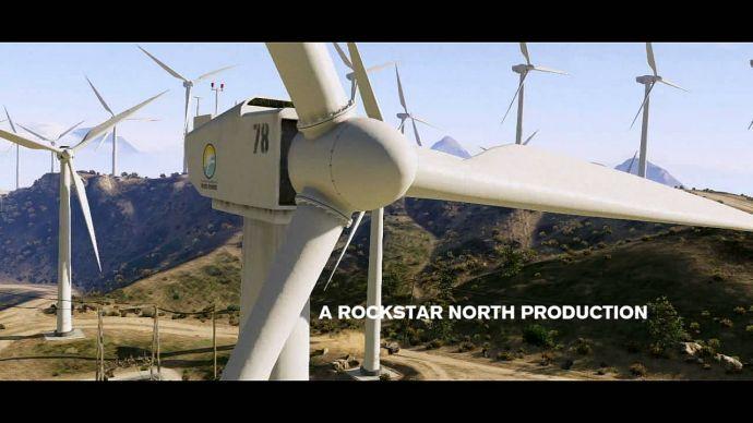 GTA 5: ветряк