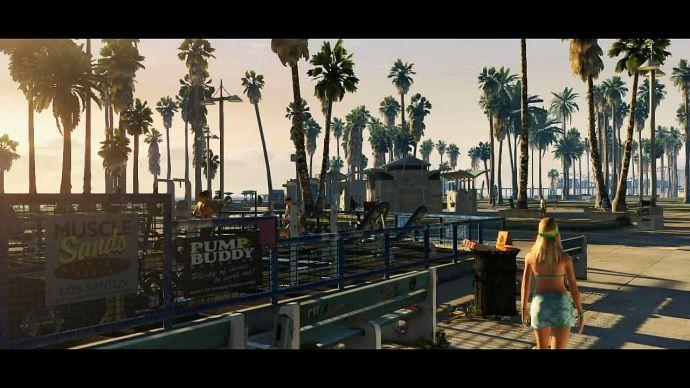 GTA 5: тренажеры
