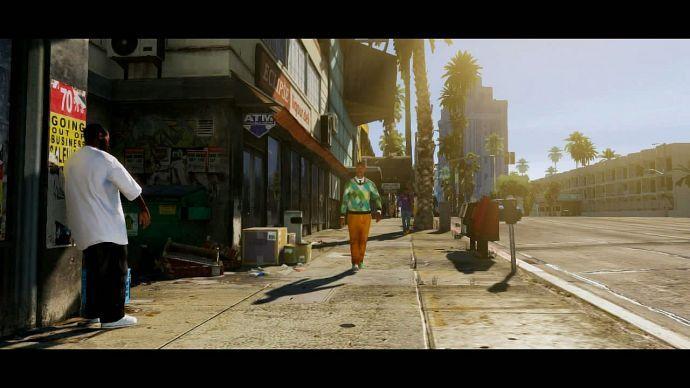 GTA 5: солнечный город
