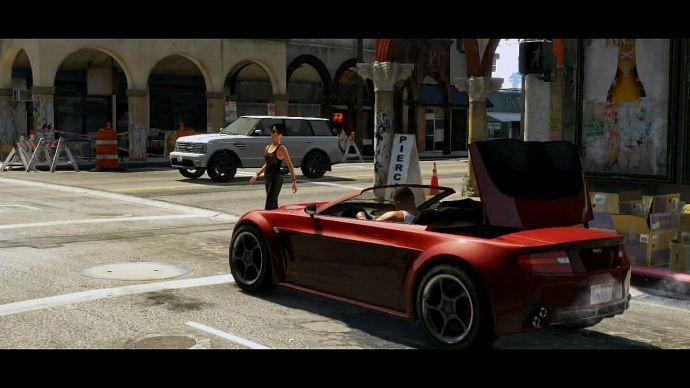 GTA 5: откидной верх