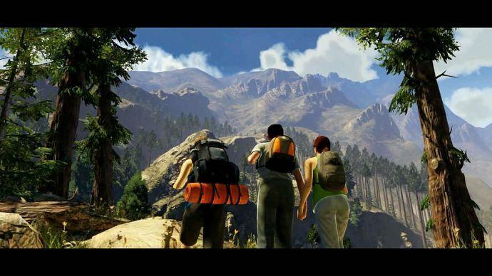 GTA 5: вид на горы