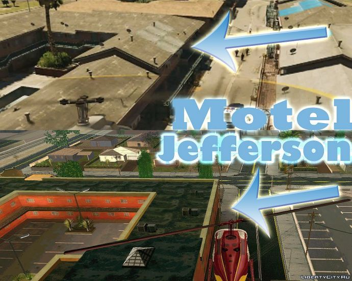 Motel Jefferson в Gta 5