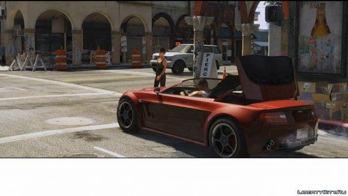 Кабриолет в GTA 5