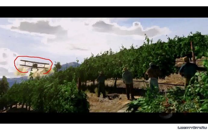 Кукурузник в GTA 5