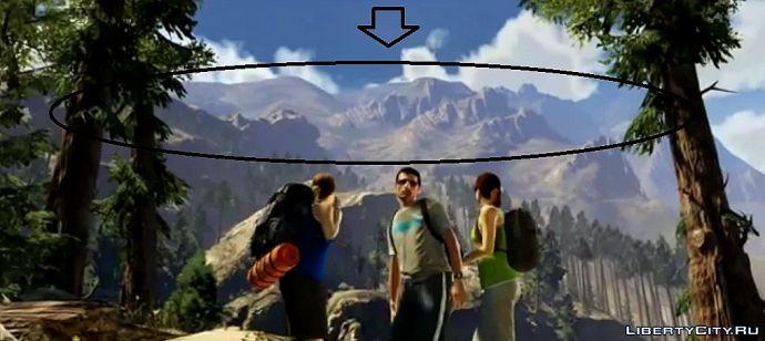 Гора Чилиад в GTA 5