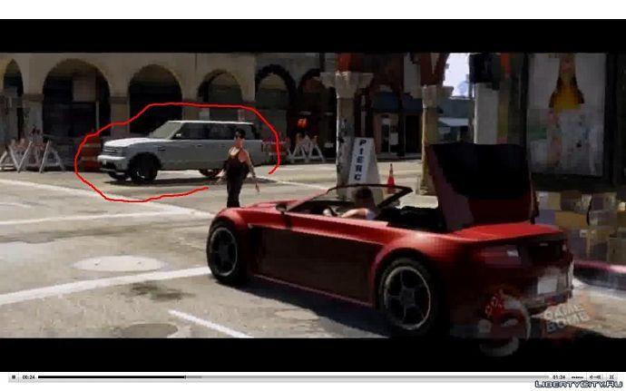 Range Rover в GTA 5
