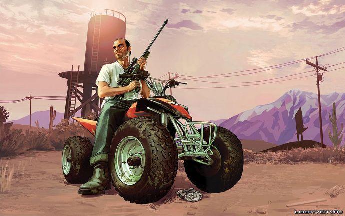 Второй главный герой GTA 5